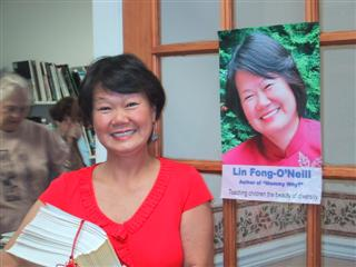 Lin at Colts Neck, NJ book signing